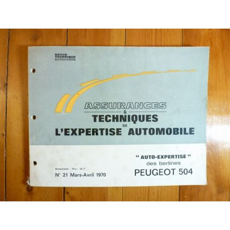 504 Revue Auto Expertise Peugeot