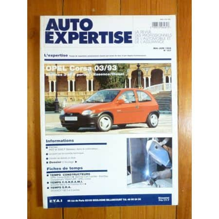 Corsa 93- Revue Auto Expertise Opel