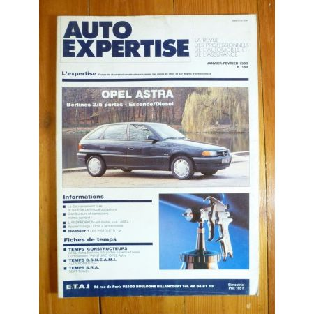 Astra Revue Auto Expertise Opel