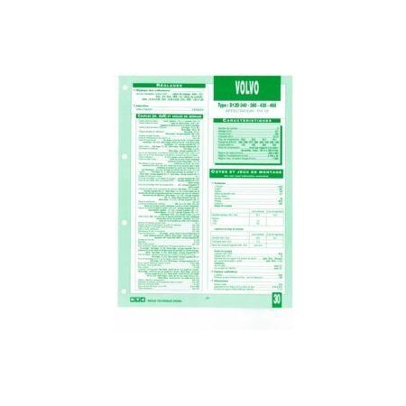 D12D 340-380-420-460 fiche technique Volvo