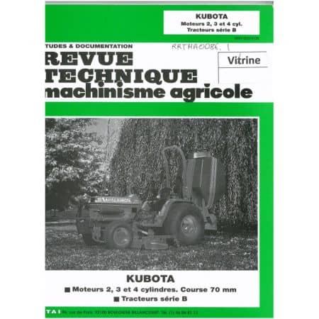 Série B Revue Technique Agricole Kubota