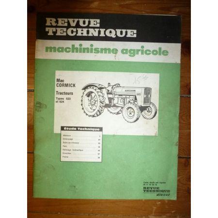 523-624 Revue Technique Agricole IH Mc Cormick