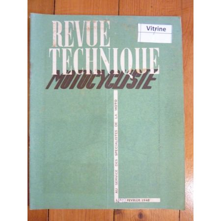 Major 350 Revue Technique moto Gnome Rhone