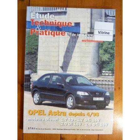 Astra D 98- Revue Technique Opel