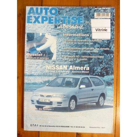 Almera Revue Auto Expertise Nissan