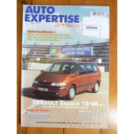 Espace 96- Revue Auto Expertise Renault