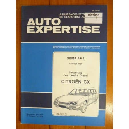 CX Revue Auto Expertise Citroen
