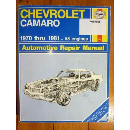 Camaro V8 70-81 Anglais Revue Technique Haynes