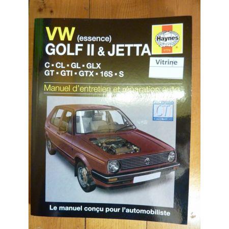 Golf II Jetta Revue Technique Haynes Volkswagen