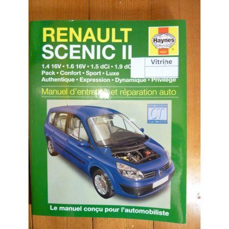 Scenic II Revue Technique Haynes Renault