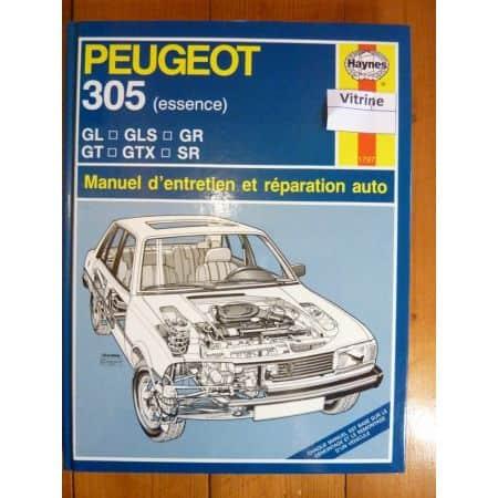 305 ess Revue Technique Haynes Peugeot