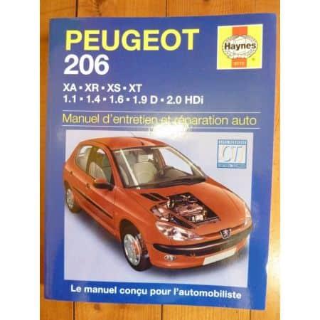 206 Revue Technique Haynes Peugeot