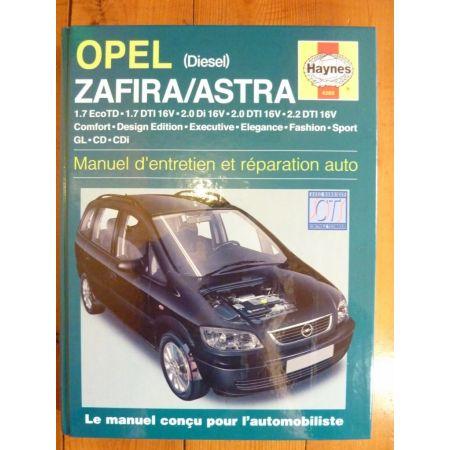 Zafira Astra Revue Technique Haynes Opel