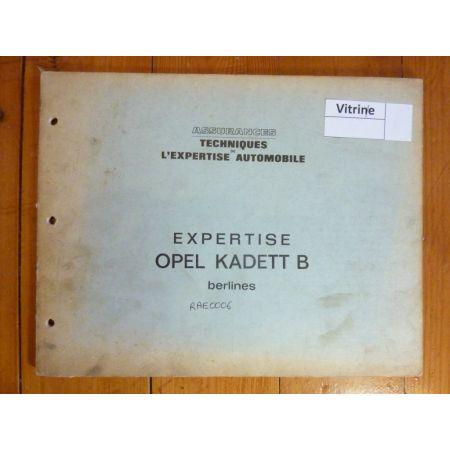 Kadett B Revue Auto Expertise Opel