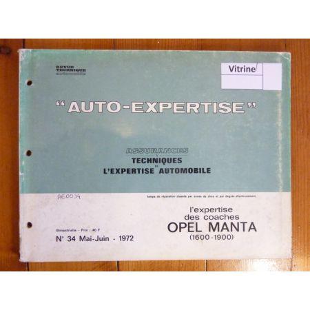 Manta Revue Auto Expertise Opel
