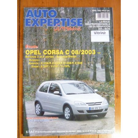 Corsa C 03- Revue Auto Expertise Opel