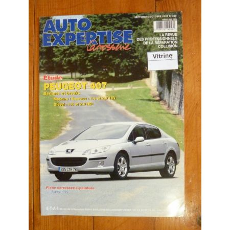 407 Revue Auto Expertise Peugeot