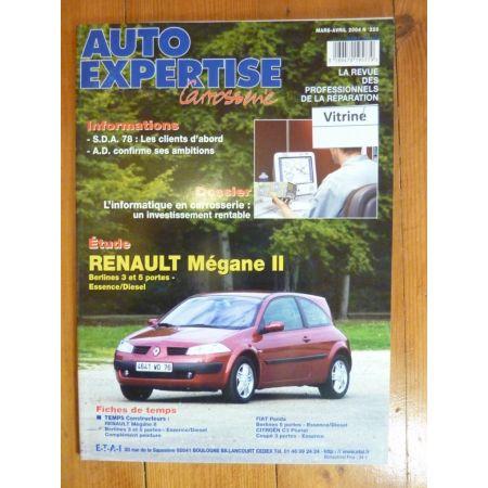 Megane II Revue Auto Expertise Renault