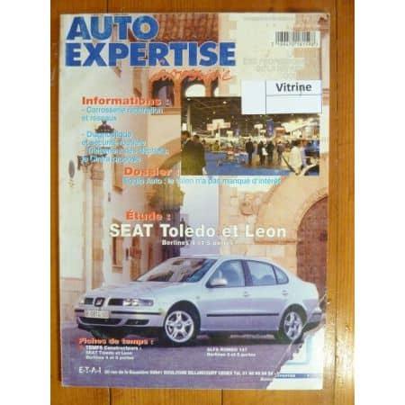 Toledo Leon Revue Auto Expertise Seat