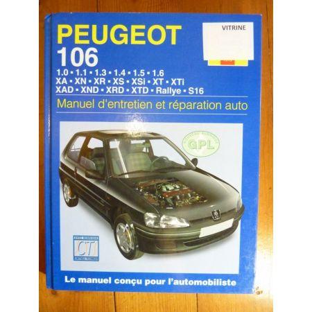 106 Revue Technique Haynes Peugeot