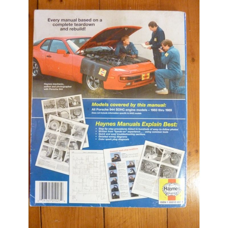 Porsche 944 de 1983 1989 all sohc engine models for Revue en anglais