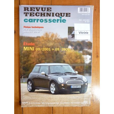 Mini Cooper Revue Technique Carrosserie Rover MG