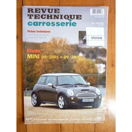 Mini Cooper Revue Technique Carrosserie Rover  MG