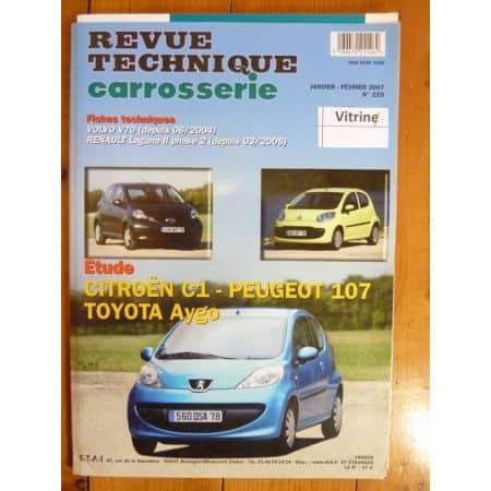 C1 107 Aygo Revue Technique Carrosserie Citroen Peugeot Toyota