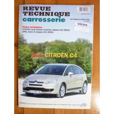 C4 Revue Technique Carrosserie Citroen