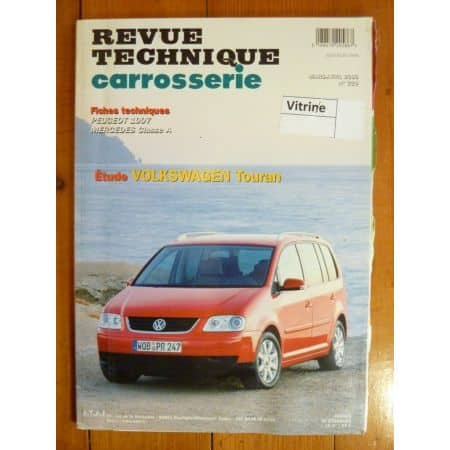 Touran Revue Technique Carrosserie Volkswagen