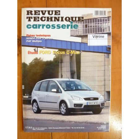 Focus C-Max Revue Technique Carrosserie Ford