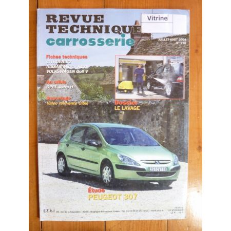 307 Revue Technique Carrosserie Peugeot