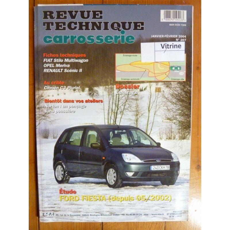 rta revue technique carrosserie ford fiesta depuis 05 2002. Black Bedroom Furniture Sets. Home Design Ideas