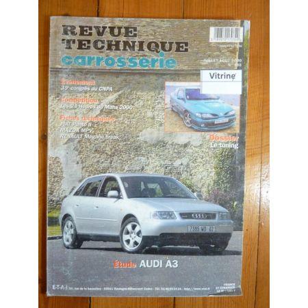A3 Revue Technique Carrosserie Audi