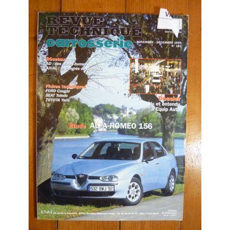 156 Revue Technique Carrosserie Alfa Romeo
