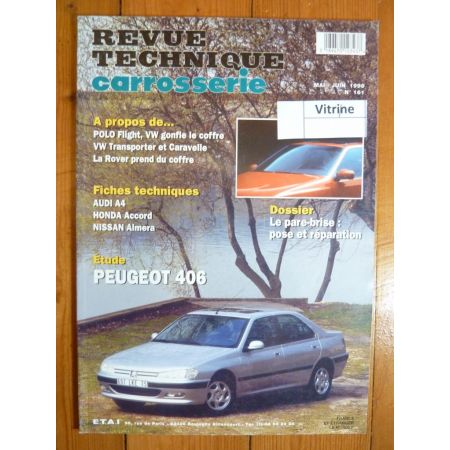 406 Revue Technique Carrosserie Peugeot