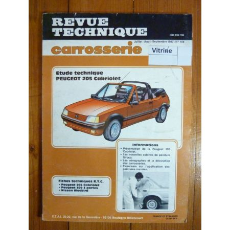205 Cab Revue Technique Carrosserie Peugeot
