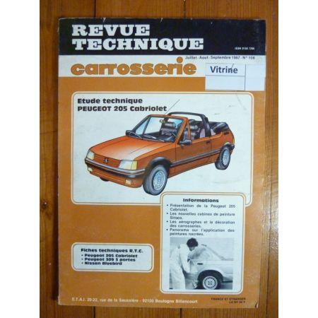 205 Cab Revue Technique Carrosserie Peugeot