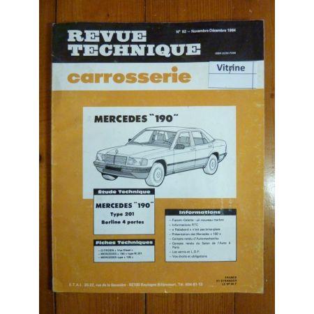 190 W201 Revue Technique Carrosserie Mercedes