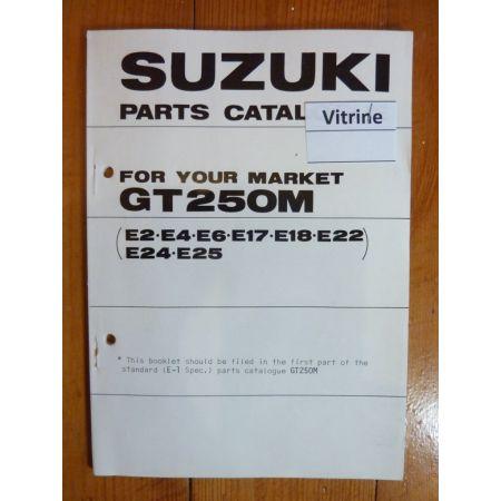 GT 250 M Catalogue Pieces