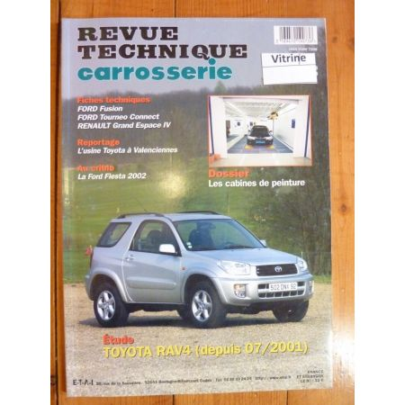 RAV4 01- Revue Technique Carrosserie Toyota
