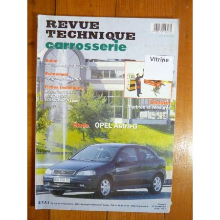 Astra G Revue Technique Carrosserie Opel