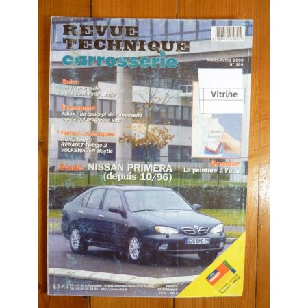 Primera 96- Revue Technique Carrosserie Nissan