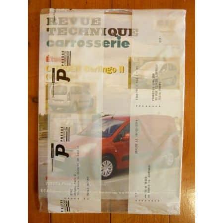 Berlingo II 12- Revue Technique Carrosserie Opel