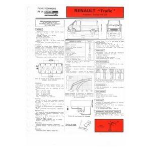 renault trafic propulsion essence moteur 841 05 1647cc. Black Bedroom Furniture Sets. Home Design Ideas