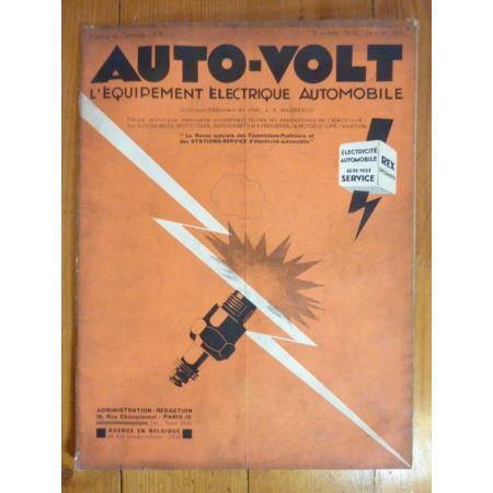 Démarreur 6V Revue electronic Auto Volt