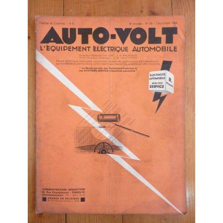 Type 129 Revue Electronic Auto Volt