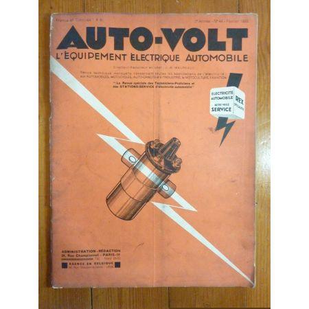 Magasine 044 Revue electronic Auto Volt