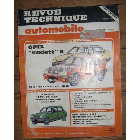 Kadett E Revue Technique Opel