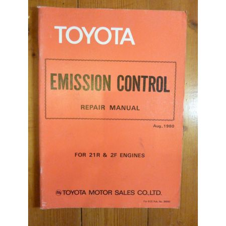 21R- 2F Repair Manual Anglais Toyota